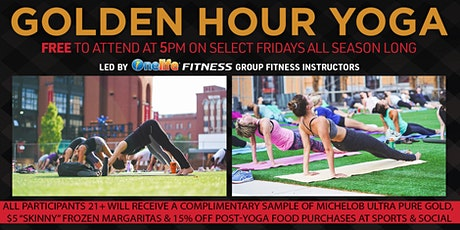 Golden Hour Yoga with OneLife Fitness at Ballpark Village tickets
