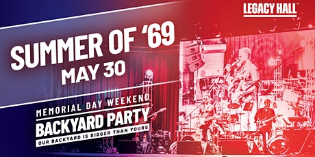 Bryan Adams Tribute: Summer of '69 at Legacy Hall tickets