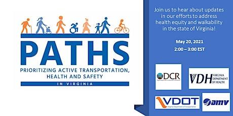 Webinar: Improving Walkability in Virginia tickets