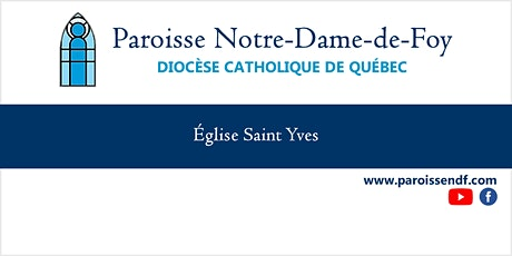 Messe Église St-Yves - Vendredi - 12 h 00 billets