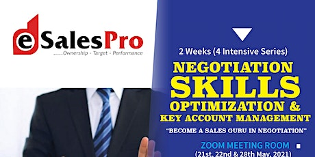Negotiation Skills Optimization & Key Account Management tickets