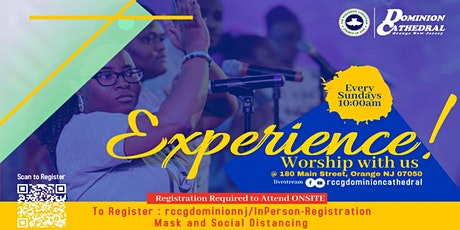 In-person Worship Experience Registration - 9:30AM Sunday Service tickets