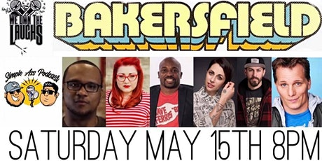 We Own The Laughs: Bakersfield (Starring Adam Hunter) tickets