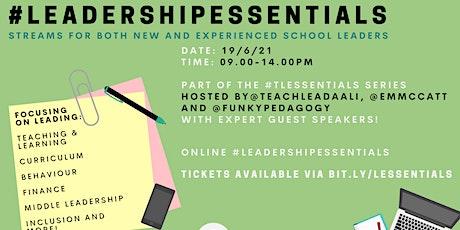 #LeadershipEssentials tickets