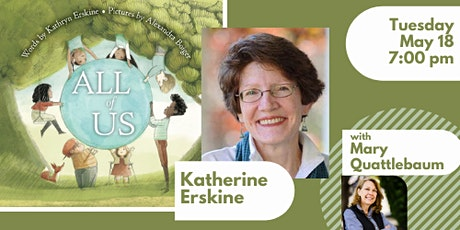 Book Launch with Kathryn Erskine for ALL OF US tickets