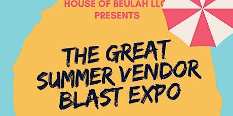 SUMMER VENDOR BLAST EXPO tickets