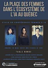 La place des Femmes dans l'écosystème de l'IA au Quebec billets
