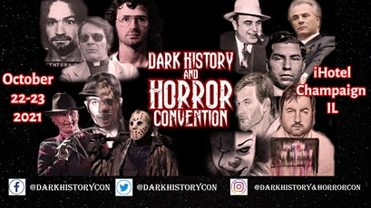 2021 Dark History and Horror Convention tickets