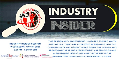 Industry Insider Session: Breaking into Cybersecurity for Youth tickets