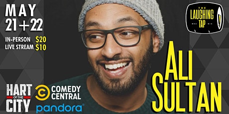 Ali Sultan at The Laughing Tap tickets