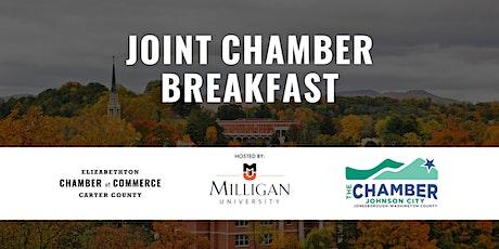 Elizabethton/Johnson City Chamber Breakfast - Hosted by Milligan University tickets