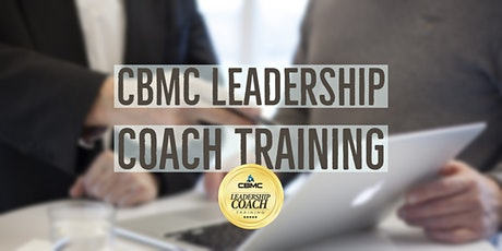 CBMC Leadership Coach Training tickets