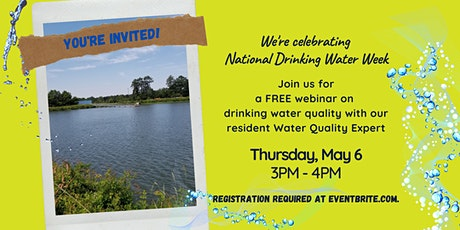 Ask the Water Lady: A Webinar About Drinking Water Quality tickets