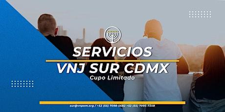 VNJ Sur - 2 Servicios para Jóvenes el Sábado 8 de Mayo boletos