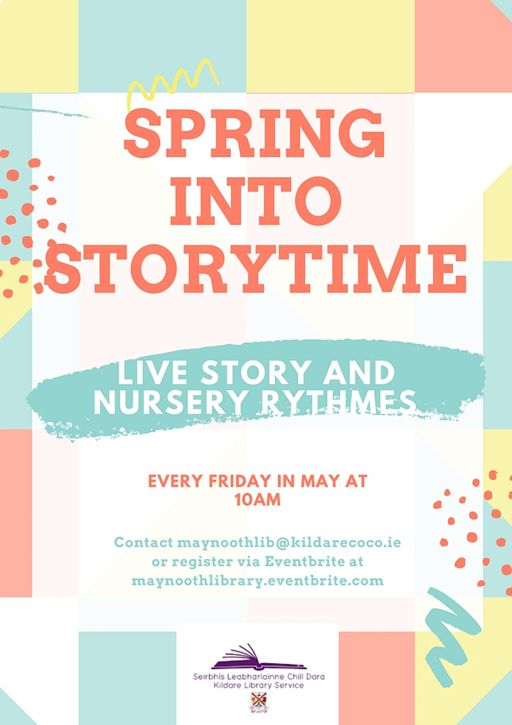Live Story Time & Sing Along Nursery Rhymes May 21st image