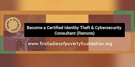 Become a Certified Identity Theft & Cybersecurity Consultant (Remote) tickets