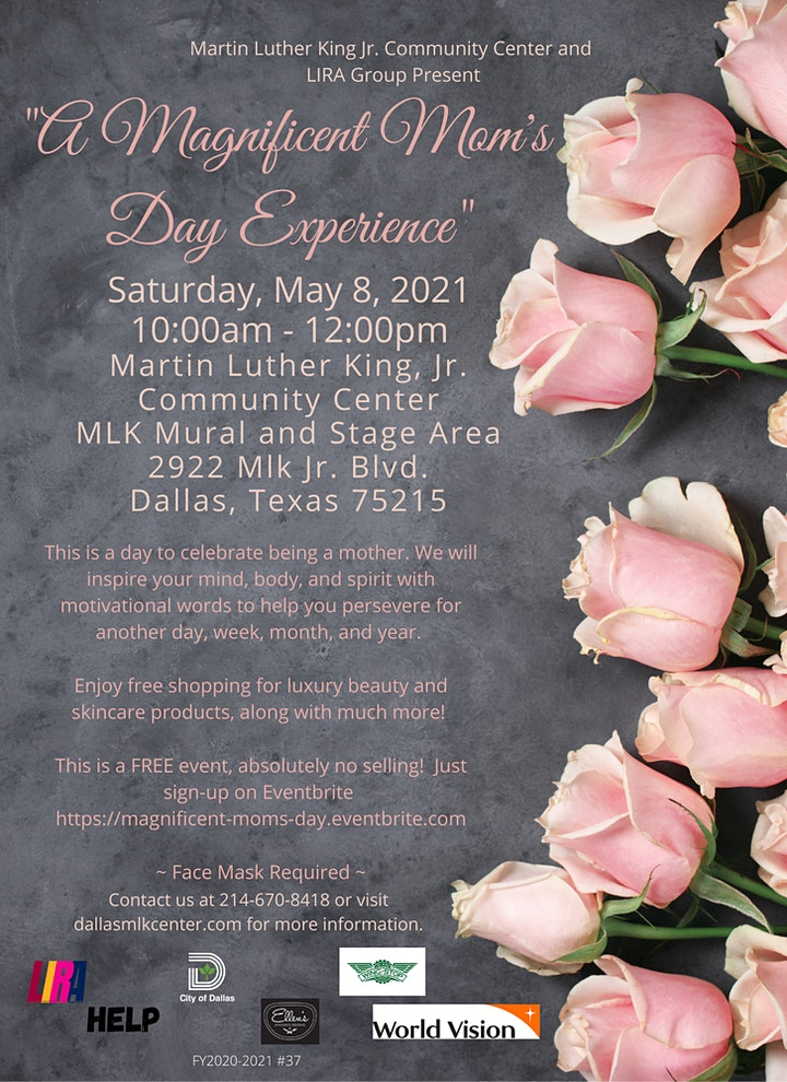 A Magnificent Mom's Day Experience image