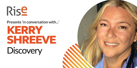 In Conversation with... Kerry Shreeve tickets