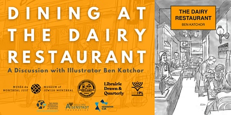 Dining at the Dairy Restaurant: A Discussion with Illustrator Ben Katchor billets