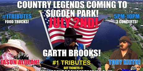 Legends Concert  Series 7-2 Jason Aldean,Toby Keith & Garth Brooks TRIBUTES tickets