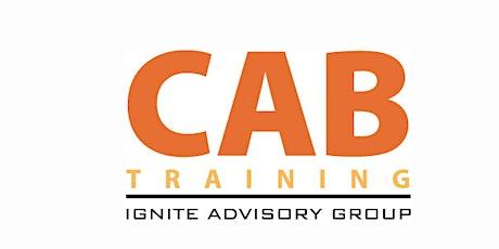Customer Advisory Board Training Online: July 2021 Group tickets