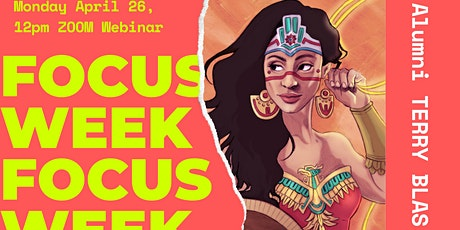 PNCA Illustration Lunch Lecture with author/illustrator TERRY BLAS tickets