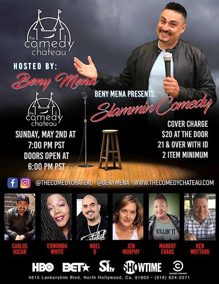 Beny Mena presents: Slammin' Comedy image