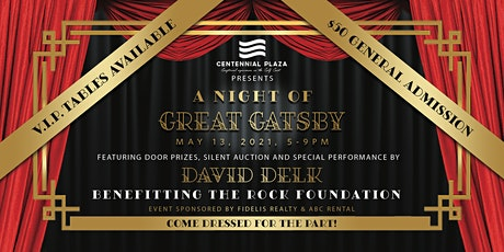 A Night of Great Gatsby Benefitting the R.O.C.K. Foundation tickets