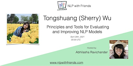 NLP With Friends, featured friend: Tongshuang (Sherry) Wu tickets