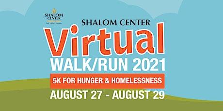 Virtual Walk/Run for Shalom Center tickets
