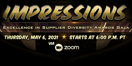 Virtual Excellence in Supplier Diversity Awards Gala: IMPRESSIONS tickets