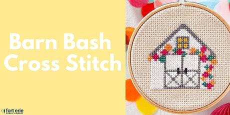 Tween/Teen Craft Kit - Barn Bash Cross Stitch tickets