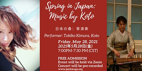 Spring in Japan: Music by Koto tickets