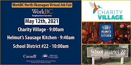 WorkBC North Okanagan Virtual Job Fair tickets