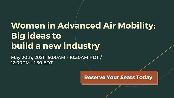 Women in Advanced Air Mobility: Big ideas to build a new industry image