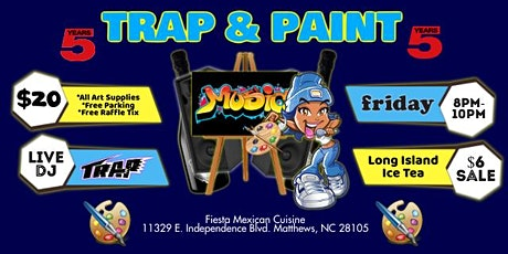 Fridays: Trap & Paint tickets