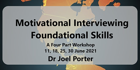 Introduction To Motivational Interviewing: Foundational Skills tickets