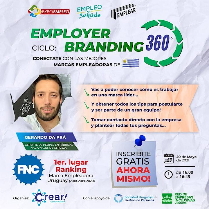 Imagen de Ciclo: Employer Branding 360 - Fábricas Nacionales de Cerveza