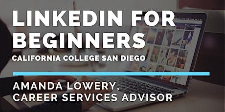 LinkedIn for Beginners tickets