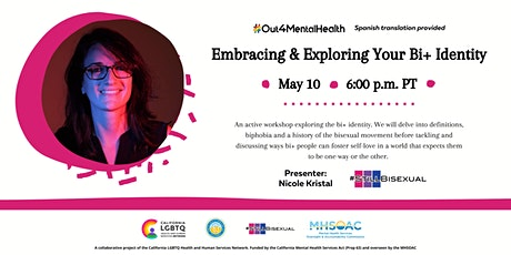 Embracing and Exploring Your Bi+ Identity tickets