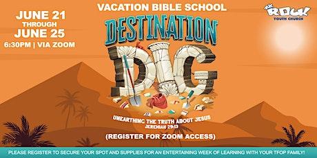 Virtual Vacation Bible School at TFOP entradas