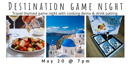 Destination Game Night - GREECE tickets