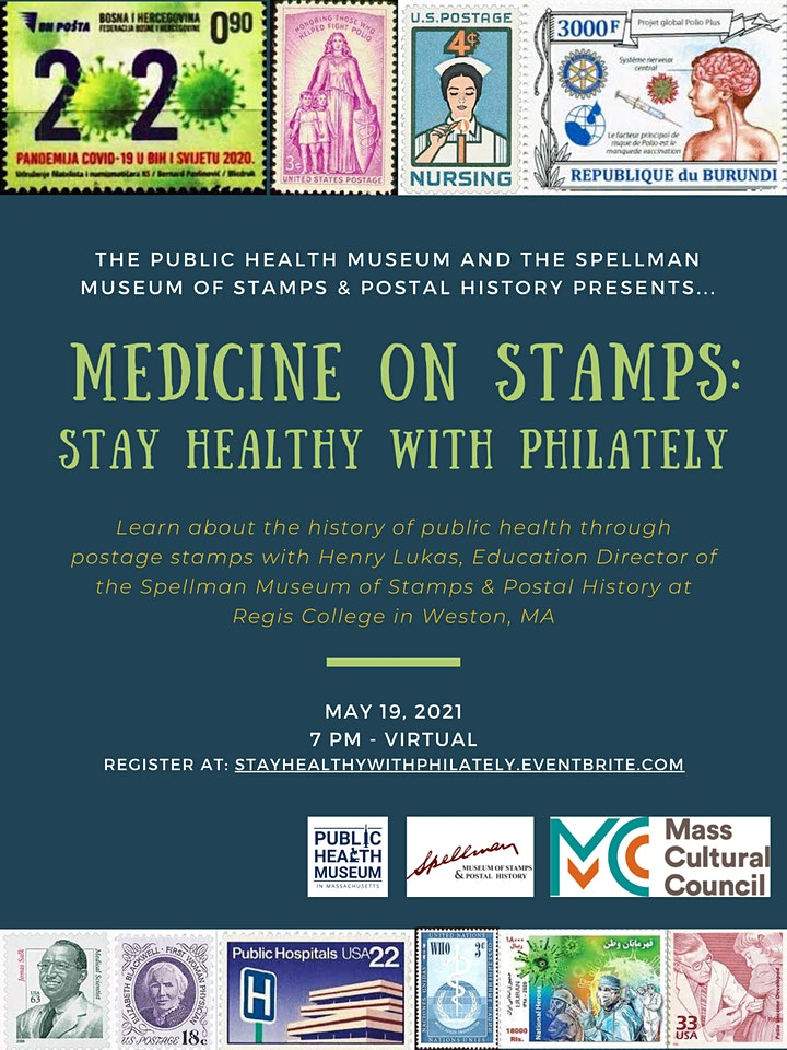 Medicine on Stamps – Stay Healthy with Philately image