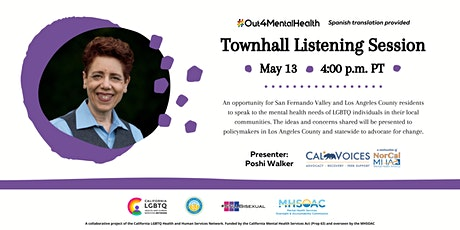 #Out4MentalHealth Townhall Listening Session tickets