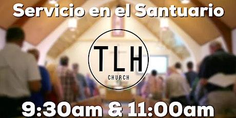 Servicio en el Santuario | Domingo 25 de Abril boletos