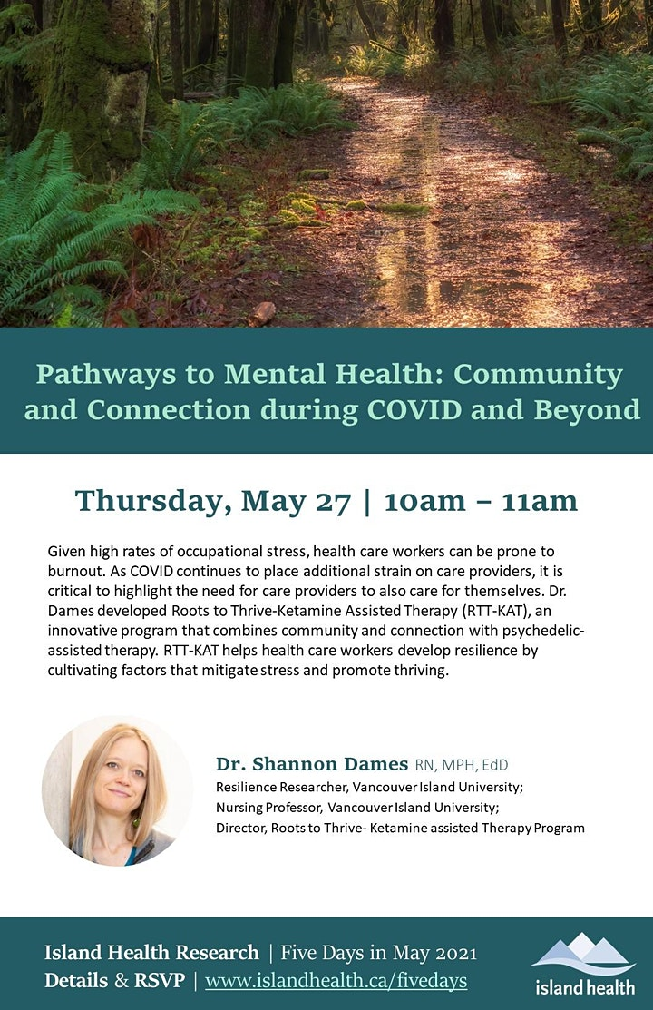 Pathways to Mental Health: Community and Connection during COVID and Beyond image