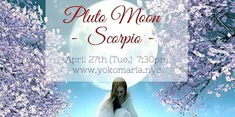 Full Moon Online Gathering  - Pluto Moon in Scorpio - tickets