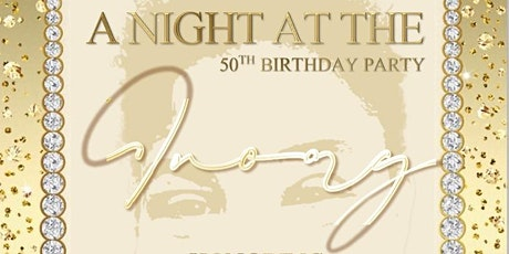 A NIGHT AT THE IVORY 50TH BIRTHDAY CELEBRATION tickets