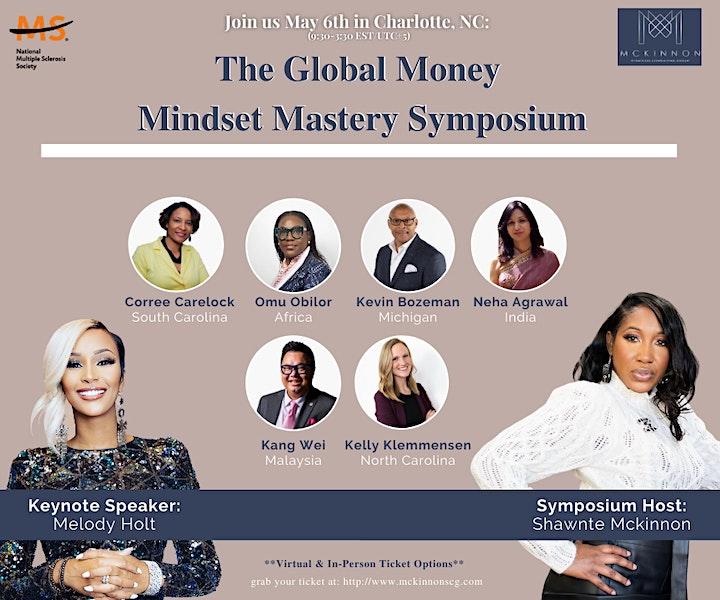 Global Money Mindset  Mastery Symposium image