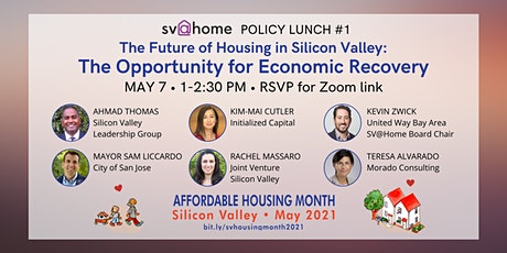 The Future of Housing in Silicon Valley: Opportunity for Economic Recovery tickets